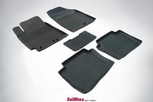 Ковры Hyundai  SOLARIS 2010  (seintex борт) 1400 руб